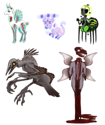 Binding of Isaac Collab Adopts (OPEN) by ToothlessEgo
