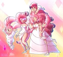 Steven Universe: Rose and the Roses! by dou-hong