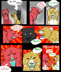 Another day in FH (A feral Heart parody comic) by Alextheinsane