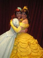 Ariel and Belle by BellesAngel