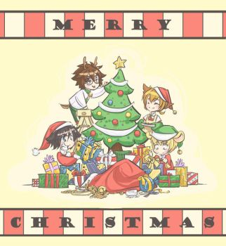 MERRY CHRISTMAS :D by DoodleWEE