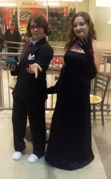 Professor Sycamore and Lust Cosplay by E-star99