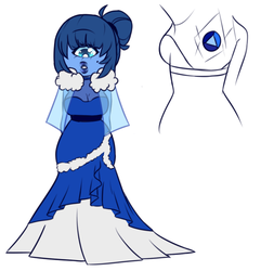 Contest Entry: A Pearl's Sapphire  CLOSED by bananna108