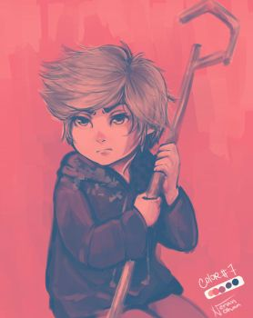 Palette Challenge : younger Jack Frost by Nerah-chan