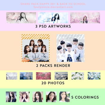 [SHARE] HAPPY 30+ WATCHER AND BACK TO SCHOOL! by Seulyeonie
