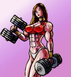 Weightlifting 1 by GiantB00bzSupremacy