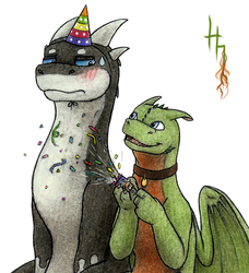 Noodle Birthday! by GriffinPhillis