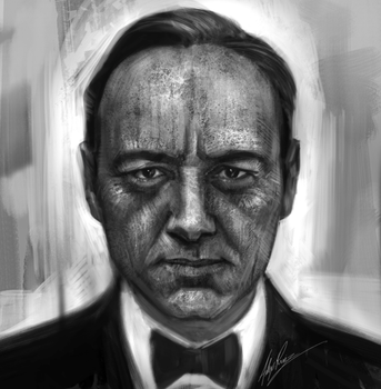 Kevin Spacey by AlexRuizArt