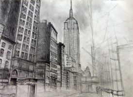 Empire state of mind by MDefour