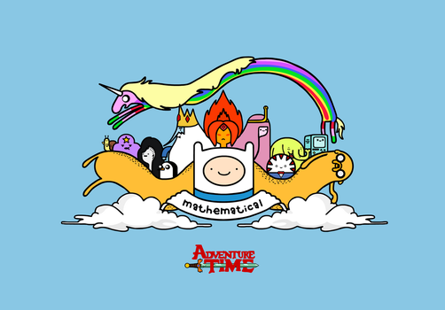 Adventure Time by sooperdave