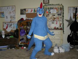 Feraligatr Cosplay by Tayadog100