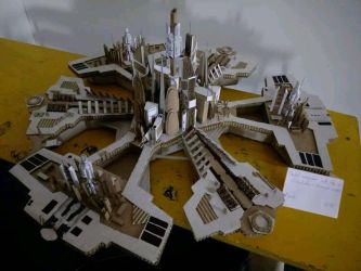 Stargate Atlantis City model by sgfanclub