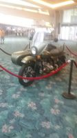 indoor motorcycle with side Car by Keyotea