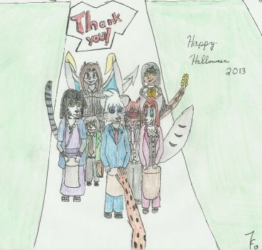 Day of Zoey Filler - Happy Halloween 2013 by ZoieFalcona