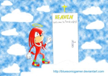 Knuckles Is Knocking by BlueSonicGamer