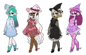 Witches Adopt Batch [1/4 Open] #4=10$ by Hecateadopt
