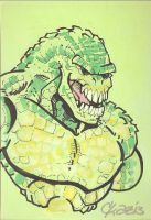 Killer Croc by cmkasmar