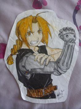 RE-UPLOAD 2013 Edward elric2 by EmberCL