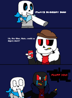 Diggery Don't {Amazing Comic #5} by cjc728