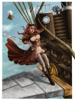 The Captain of airship by rumiko86