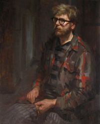 Self Portrait in the Apartment by Adam-Nowak