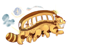The Magical CATbus! by TOON-STER