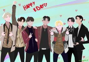 Happy Valentine's day Ahgases! by monzaibu