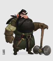 Dwarf by CamaraSketch