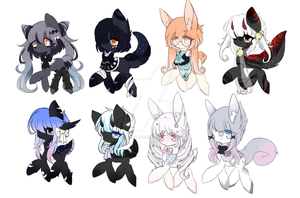 Adopt Batch #1 ~ { Open } *Updated Prices* by Majo-Shoujo