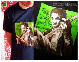 Bobsmade_tee-grant green by Bobsmade
