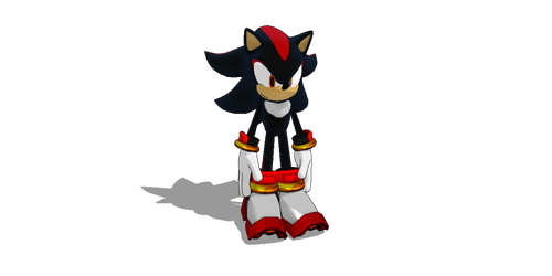 MMD Shadow the hedgehog 2.0 pack by jetknight