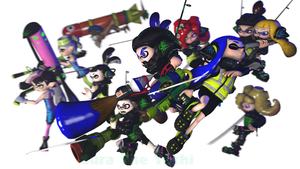 Happy Splativersary and birthday to Splatoon! by Cura-The-Yoshi
