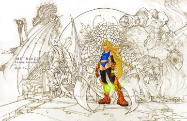 METROID - Incomplete Samus by fallout161