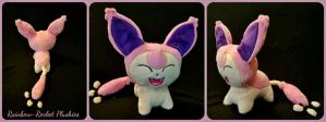 Skitty Pokemon Flat Sale Plush (SOLD)