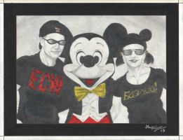 Tyler, Mickey, and Lina by Knifley