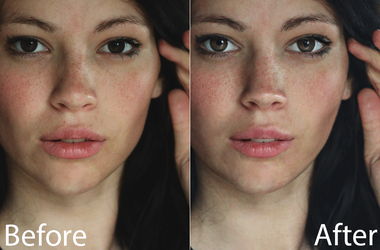 Short Photoshop beauty retouch by ultimate888
