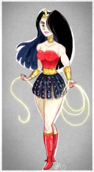 wonder woman by KarlyMacDonald