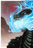 Atomic Dynasty Godzilla by mikegoesgeek
