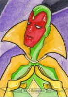 Marvel Masterpieces - Vision by 10th-letter