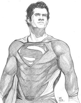 Man Of Steel by M-Blitz