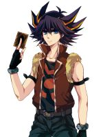 Yusei 15yrs by shucanme