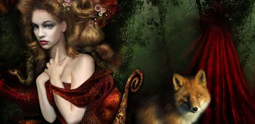 Lady And The Fox by galefra