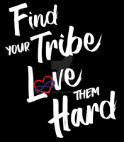 Find Your Tribe - Polyamory Heart by PrideMarks
