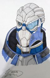 Garrus by SJWebster