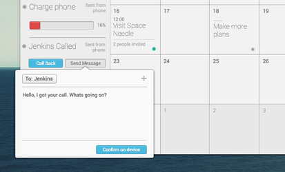Elementary Calender App Preview by r2ds