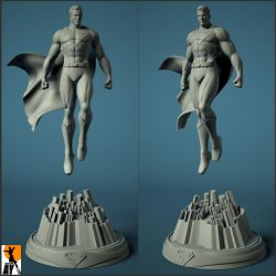 Superman Fortress of Solitude by AYsculpture