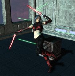 Sith Deflecting Bolts by RavagerOfWorlds