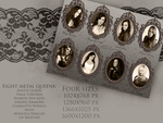 The Wall Of Symphonic Metal Queens - Wallpapers by CountessMorticia