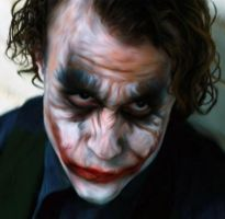 Heath Ledger Joker by ccootttt