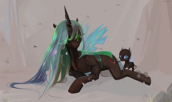 They didn't give her a chance. by utauYan